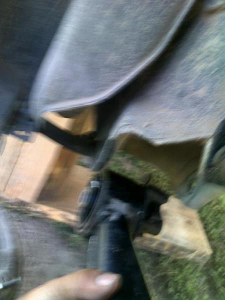 Вытягивание балки из кузовных крепежей