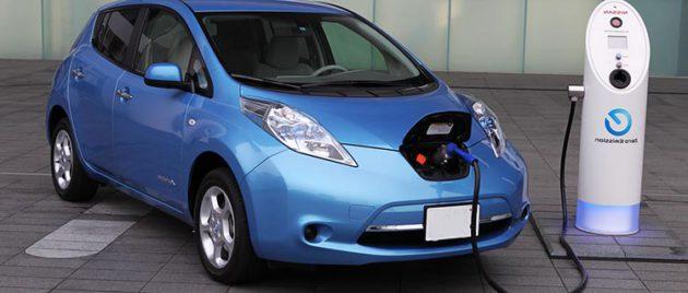 зарядка электромобиль